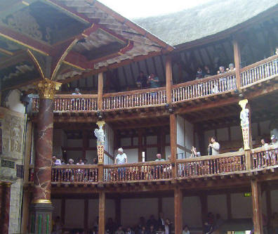 Globe Theater Seating Galleries
